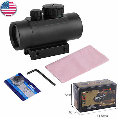 Red Green Laser For Pistol Dot Sight Scope Tactical with 1X CR2032 Battery