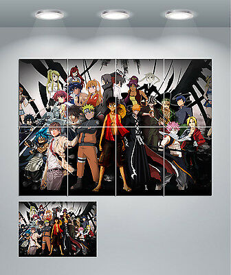 Anime Manga Giant Wall Art poster Print