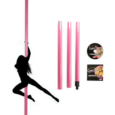 50mm Professional Spinning Pole Dancing Pole - Sport / Fitness Pink