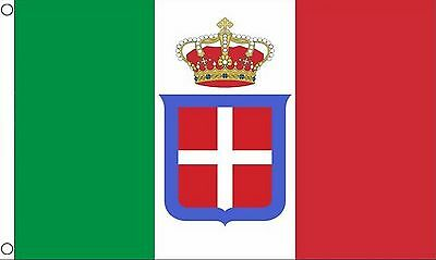 ITALY STATE 5x3 feet FLAG 1861 to 1946 Italian Kingdom ITALIA flags
