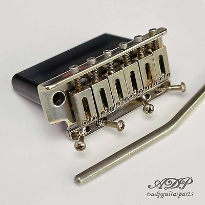 Tremolo Strat Relic Super-Vee Bladerunner pour Vintage 6 trous Nickel Aged
