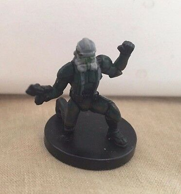 Star Wars Miniatures Champions of the Force #23/60 Clone Commander Gree - NC