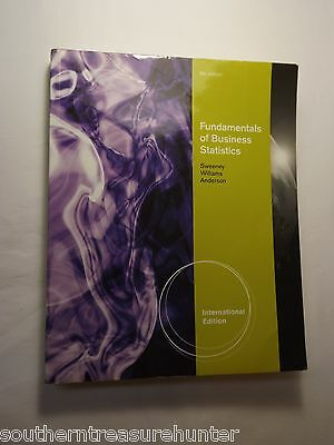 Fundamentals of Business Statistics 6 ed Sweeney Williams Anderson 9781111221270