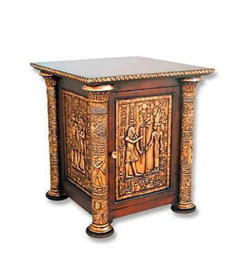 Egyptian Side table Egyptian Home Art Decor Statue