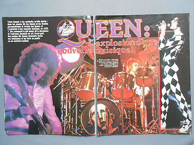 ►CLIPPING - COUPURE DE PRESSE : QUEEN FREDDY MERCURY 2p