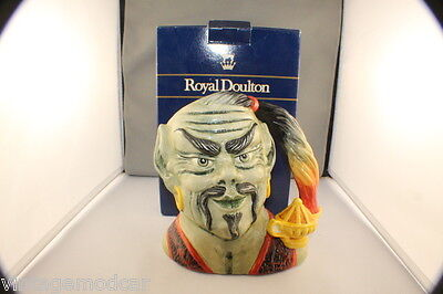 BOXED  Royal Doulton Toby Jug 1991 The Genie, S.J.Taylor, D6892, As New