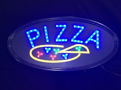 Animated LED Neon Light Business PIZZA LED sign with On/Off Motion Switch