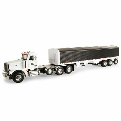 Tomy Big Farm Peterbilt 367 Truck w/ Grain Trailer 1:16 Scale Kids/Children Toy