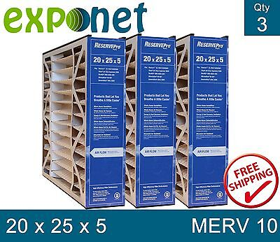 GeneralAire # 4501 MAC 2000 ReservePro 20x25x5 Media filter Package of 3