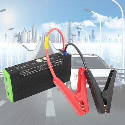 AU 68800mAh Portable Vehicle Car Jump Starter Booster 4USB Power Bank Charger 12