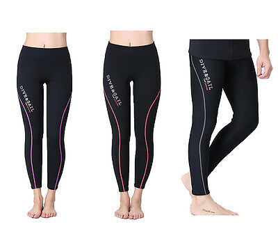 1.5mm Mens Womens Neoprene Scuba Surf Diving Wetsuit Legging Trousers Pants