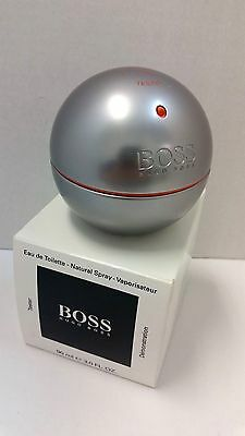 Boss In Motion by Hugo Boss Eau de Toilette Spray 3 fl oz/ 90 ml New Lot M