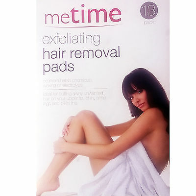 Exfoliating hair removal pads from Metime, pack contains 13 pieces