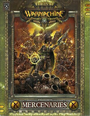 FORCES OF WARMACHINE MERCENARIES Guida manuale PIP 1031, Privateer Press INGLESE