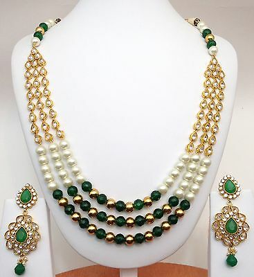 Indian Bridal / Party Wear Anarkalli Necklace Set