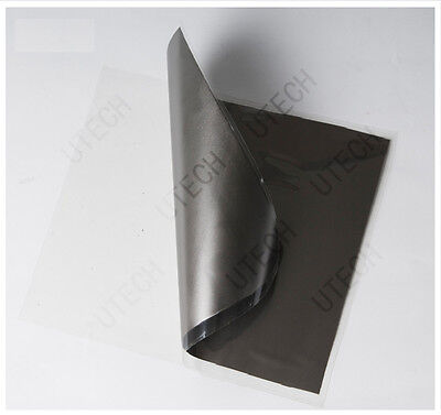10pcs double-layer Graphite Electrode Rectangle Plate Sheet 100*100*0.05mm