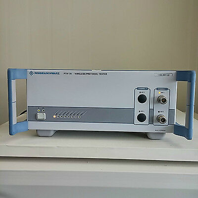 Used R&S Rohde & Schwarz PTW70 - Wireless Protocol Tester