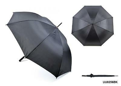 KS Brands UU0256 30 Inch 190 Taslon 8 Panel Unisex Golf Umbrella In Black - New