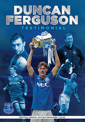 DUNCAN FERGUSON TESTIMONIAL - EVERTON v VILLARREAL (2nd August 2015)