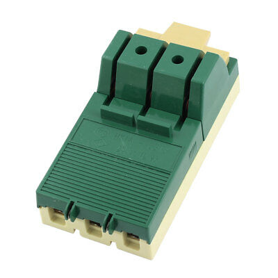 AC 380V 63A 3 Pole Single Throw Circuit Control Disconnect Switch Green