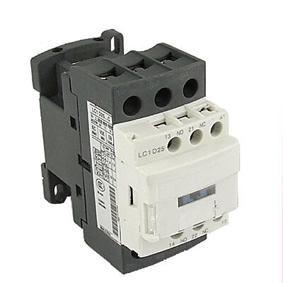 LC1D25M7C AC Contactor 25A 3 Phase 3-Pole 220V 50/60Hz Coil