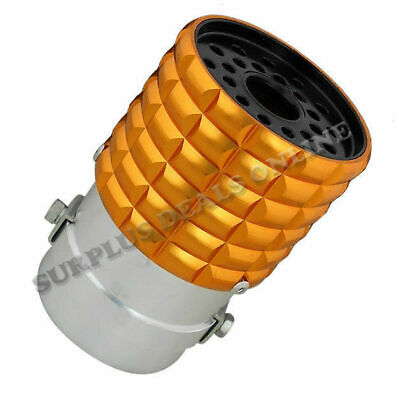 Gold Coloured Anodised Sports Exhaust Tip - USSG
