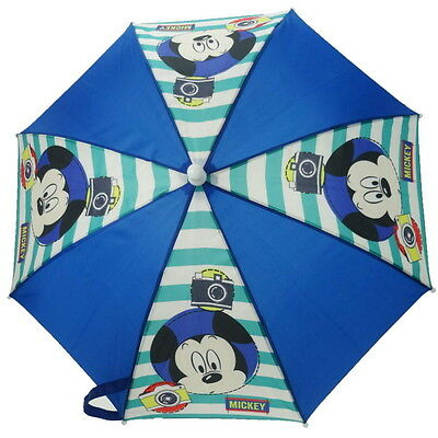 NEW OFFICIAL Mickey Mouse Disney Boys / Girls / Kids Umbrella / Brolly