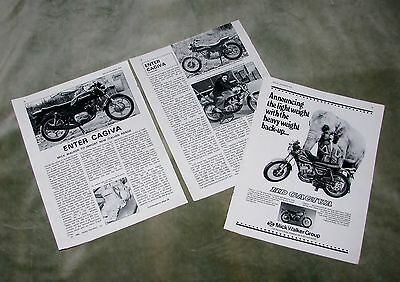 1978 Cagiva Mick Walker Magazine Article