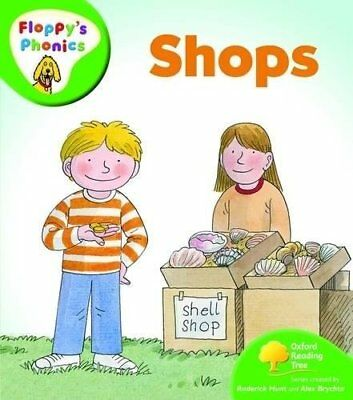 NEW - SHOPS (Floppy's Phonics) LEVEL 2 (OXFORD READING TREE)  Stage 2