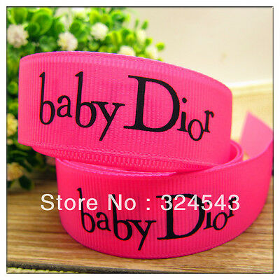 "Baby Ribbon 1"" Wide NEW UK SELLER FREE P&P"