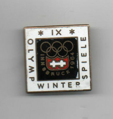 Orig.PIN    Olympic Winter Games INNSBRUCK 1964 - Official Logo  !!    VERY RARE