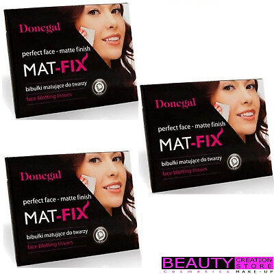 DONEGAL Face Blotting Tissues Mat-Fix Perfect Face Matte Finish 50pcs DG001