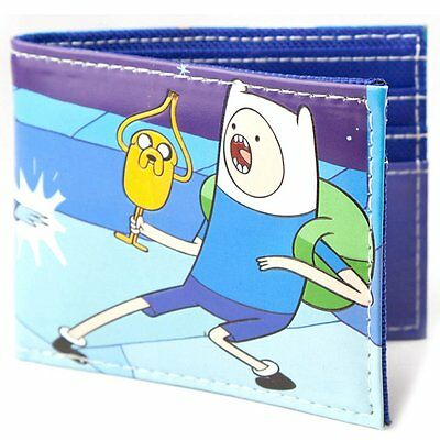 NEW OFFICIAL Adventure Time Finn and Jake Card Coin Wallet