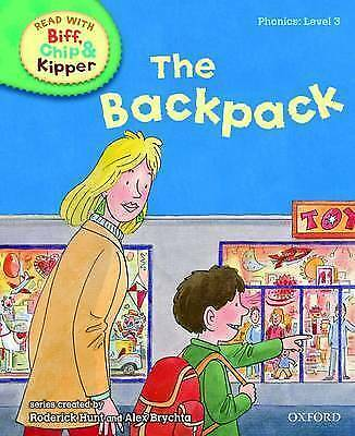 NEW -  the BACKPACK (Phonics) LEVEL 3 (OXFORD READING TREE ) BIFF CHIP KIPPER