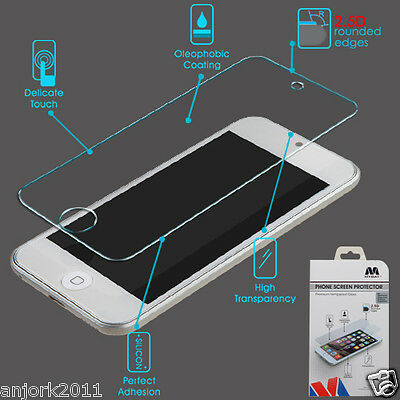 For iPod Touch 5th / 6th Gen Tempered Glass Screen Protector 0.3mm 2.5D