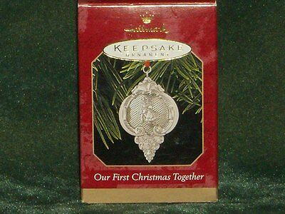 Hallmark 1999 Our First Christmas Together Ornament - NEW