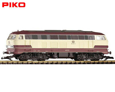 Piko G Scale 37502 BR 218 Diesel Locomotive Cream/red TEE Colors with DCC option