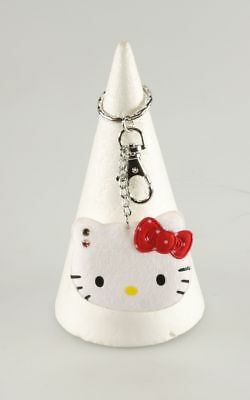 Porte-clé Hello Kitty Hello Kitty Tête blanc