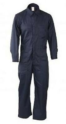 US BLUE Navy Airforce Army USCG Flightsuit Shipboard Coverall Kombi blau Medium