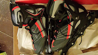 Rollerblade ZetraBlade II Roller blades - Size 12, Red and Black