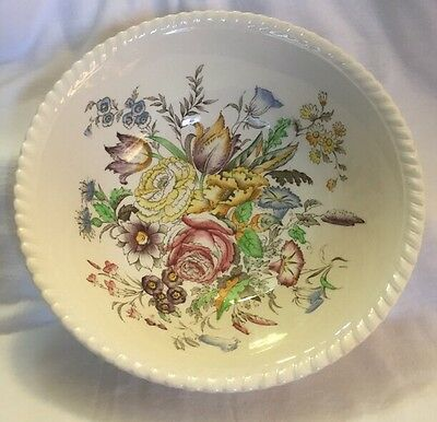 Vintage Johnson Brothers Garden Bouquet Fine English China Vegetable Bowl