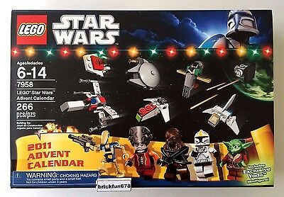 Lego 7553 City 2011 Advent Calendar New In Factory Sealed Box
