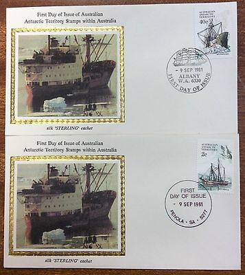 1981 AAT ships silk covers