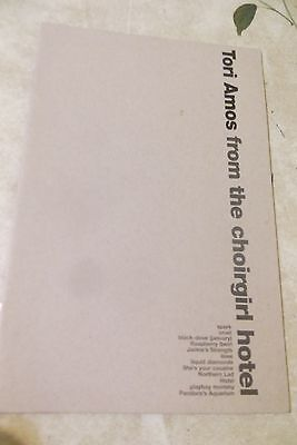 Tori Amos -From the Choirgirl Hotel PROMO LYRIC BOOKLET