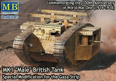1/72 MASTERBOX MK I Male British Tank Gaza Strip 72003