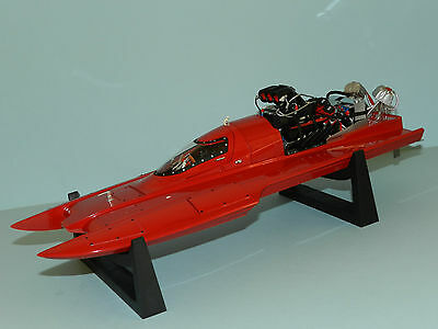 Bad Ass Diecast 1/18 Top Fuel Hydro Boat Red MIB