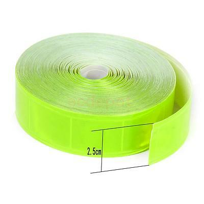 Reflective Safety Warning Tape Film Sticker Strip Conspicuity Tape Roll-Green