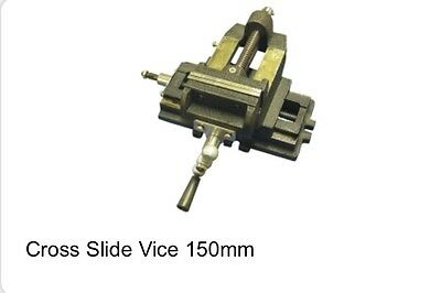 New Cross Slide Vice 150Mm