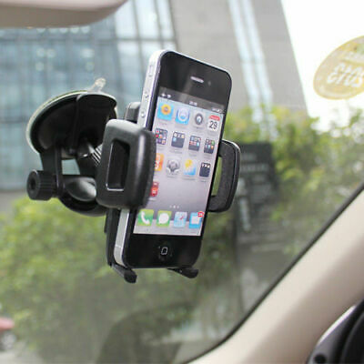 Car Windshield Gooseneck Mount Holder - iPhone iPod Galaxy Smart Cell Phone GPS