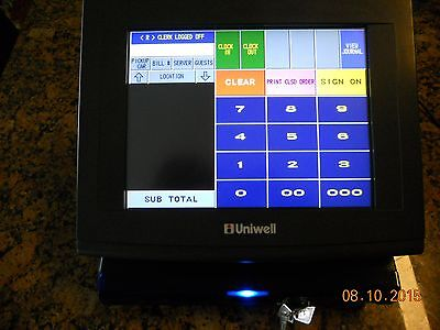 Refurbished Uniwell DX895 Touchscreen Hospitality POS Terminal